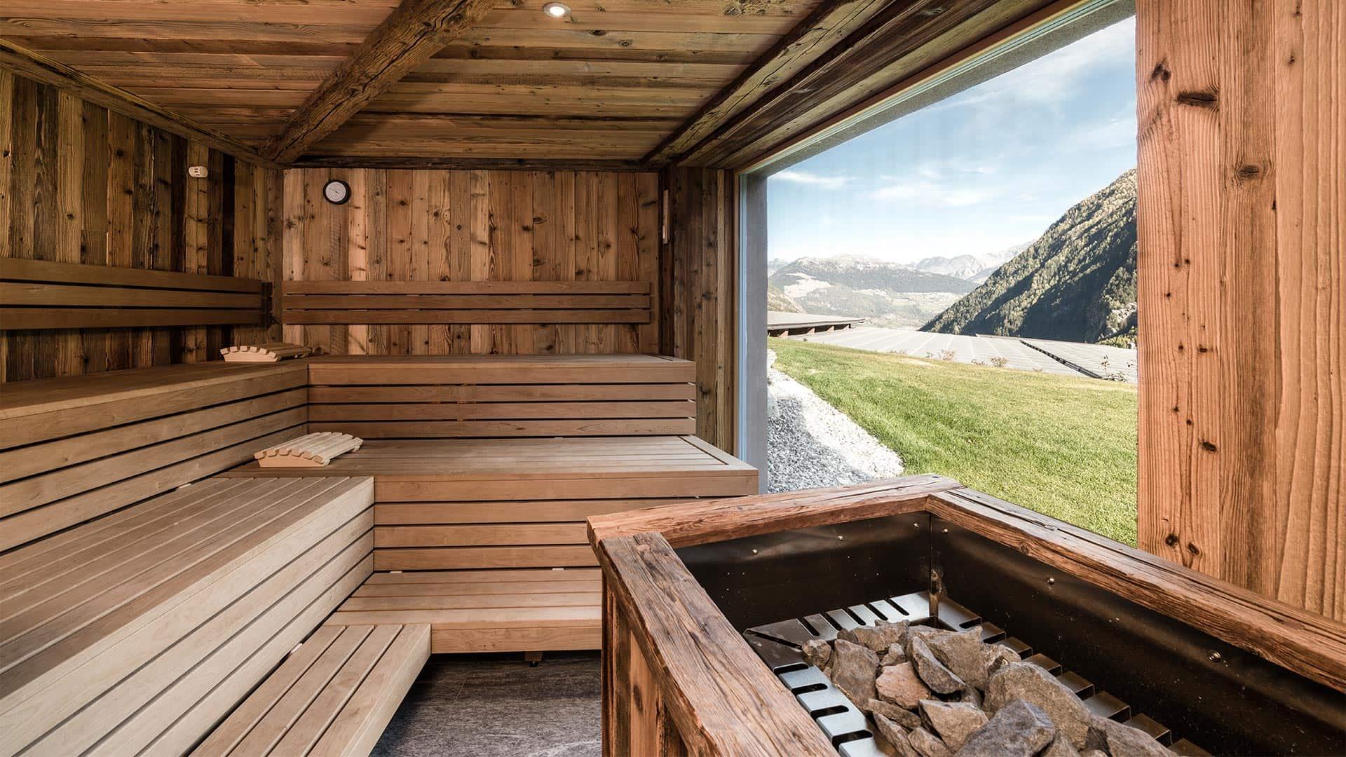 Unsere Saunawelt im Vinschgau | Tuberis Nature & Spa